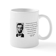 Abraham Lincoln 29 Small Mug