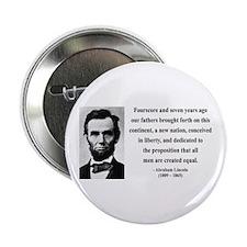 "Abraham Lincoln 29 2.25"" Button"