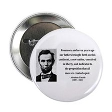 "Abraham Lincoln 29 2.25"" Button (10 pack)"