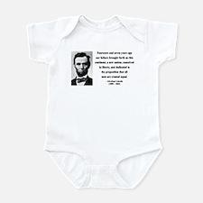Abraham Lincoln 29 Infant Bodysuit