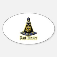 Past Master F & A M Decal