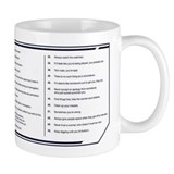Gibbs rules Small Mugs (11 oz)