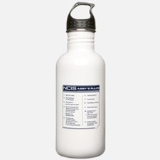 NCIS Abby's Rules Water Bottle