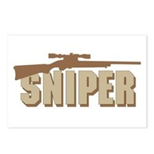 SNIPER Postcards (Package of 8)