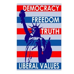 Our Liberal Values Postcards (Pack of 8)