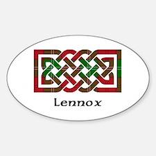 Knot - Lennox Sticker (Oval)