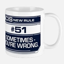 NCIS Rule #51 Mug