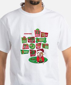 12 Dogs of Christmas T-Shirt