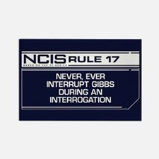NCIS Rule #17 Rectangle Magnet