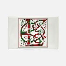 Monogram - Lennox Rectangle Magnet
