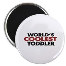World's Coolest Toddler (Red) Magnet