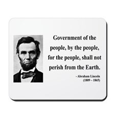 Abraham Lincoln 30 Mousepad