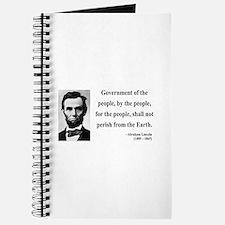 Abraham Lincoln 30 Journal