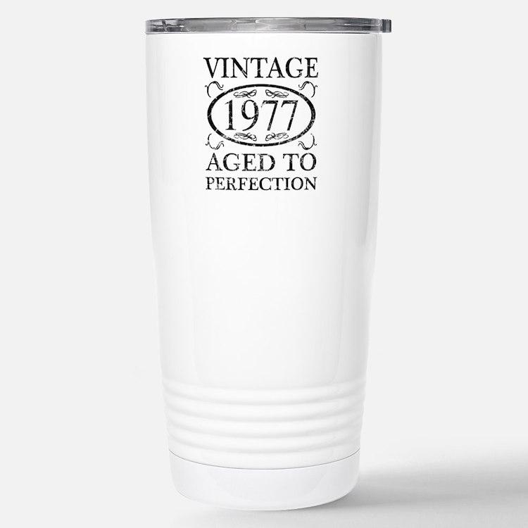 Vintage 1977 Travel Mug