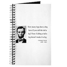 Abraham Lincoln 31 Journal