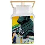 India Travel Advertising Print Twin Duvet