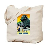 India Travel Advertising Print Tote Bag