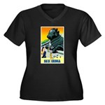India Travel Advertising Print Plus Size T-Shirt