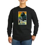 India Travel Advertising Print Long Sleeve T-Shirt