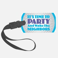 It's Time to Party Luggage Tag