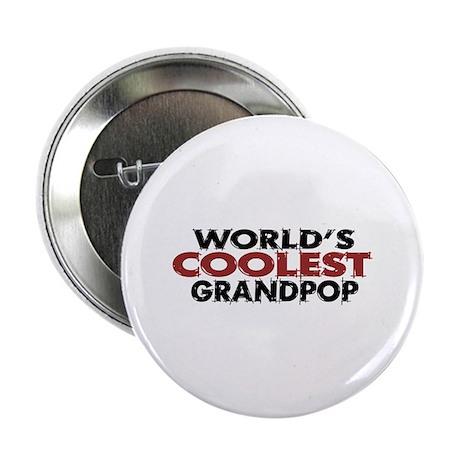 "World's Coolest Grandpop 2.25"" Button"