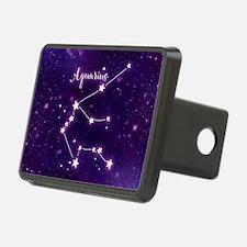 Aquarius Zodiac Constellat Hitch Cover