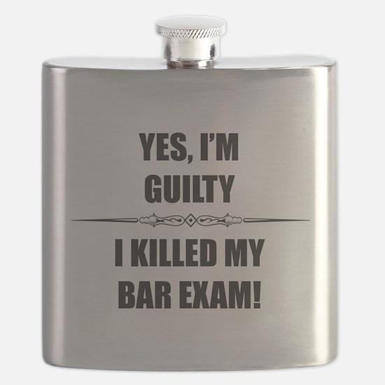 Bar Exam - Im Guilty Flask