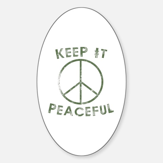 Funny Funny kentucky Sticker (Oval)