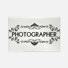 Wedding Series: Photography (Blac Rectangle Magnet