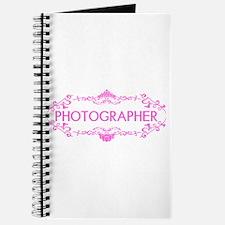 Wedding Series: Photography (Pink) Journal