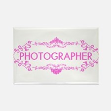 Wedding Series: Photography (Pink Rectangle Magnet