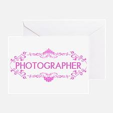 Wedding Series: Photography (Pink) Greeting Card