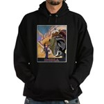 India Vintage Travel Advertising Print Sweatshirt