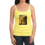 India Vintage Travel Advertising Print Tank Top