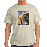 India Vintage Travel Advertising Print T-Shirt