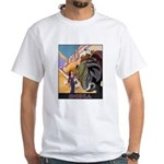 India Vintage Travel Advertising Print T-Shirt