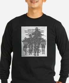 americansoldier Long Sleeve T-Shirt