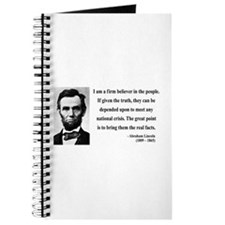 Abraham Lincoln 32 Journal