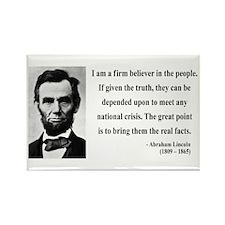 Abraham Lincoln 32 Rectangle Magnet (10 pack)