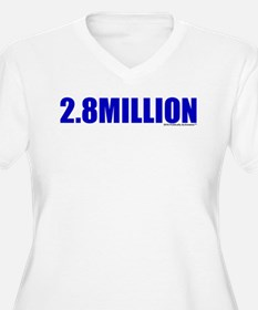Hillary's Popular Margin Plus Size T-Shirt