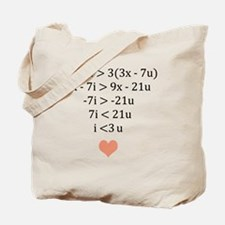 Funny Valentines day fiance Tote Bag