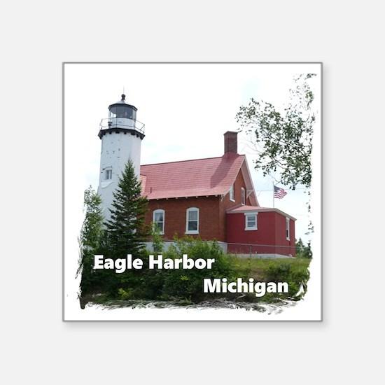 Eagle Harbor Lighthouse Sticker