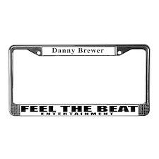 Unique Upper tag License Plate Frame