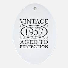 Unique Unique 60 years old Oval Ornament
