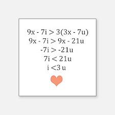 Equation of Love Sticker