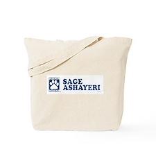 SAGE ASHAYERI Tote Bag