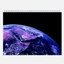 Planet Earth Wall Calendar