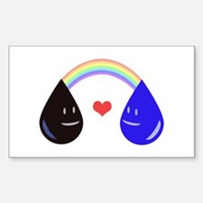 Opposites Attract - Oil & Water make a Decal