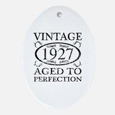 Funny 90th birthday Oval Ornament