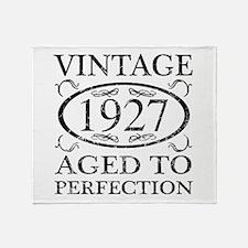 Vintage 1927 Throw Blanket